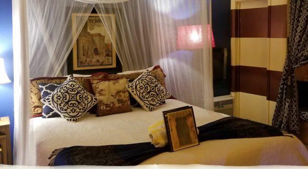 Standard King Room Upstairs Bed